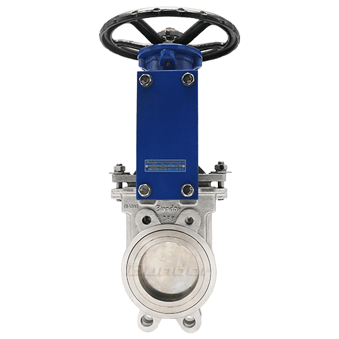 ANSI 150 Wafer Knife Gate Valve