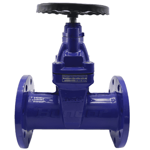 DIN 3352 F5 Resilient Seated Flanged Gate Valves